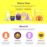Trick or Treat Website Design