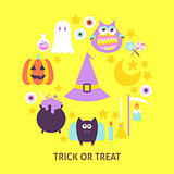 Trick or Treat Trendy Poster