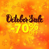 October Sale Promotion