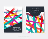 Creative modern brochure design templates