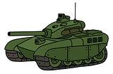 Funny heavy tank