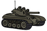 Funny khaki tank