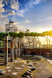 Great Vittoriano in Rome