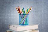 Multicolor pencils set