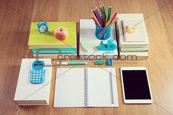Tidy student desktop