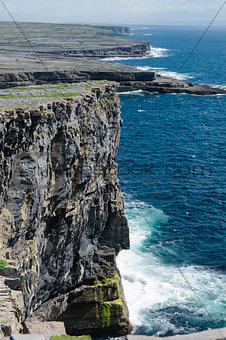 Cliffs of Inishmore, Aran Islands, Ireland, Europe