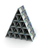 South African Rand Pyramid
