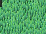 Grass seamless vector pattern.