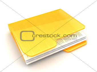folder with text