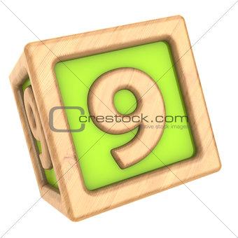 9 cube