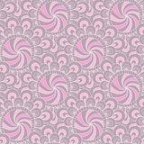Vintage pastel seamless pattern