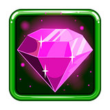 The application icon with gems 2