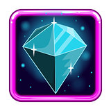 The application icon with gems 4