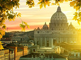 Vatican in autumn