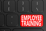 Employee Training on black keyboard