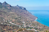 Cliffs of Tenerife island