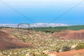 Cliffs of Tenerife island