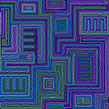Seamless tribal abstract stripped geometric background.