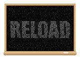 white reload code blackboard