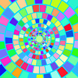 Colorful Mosaic Background.