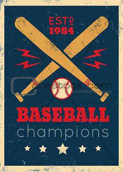 poster for baseball
