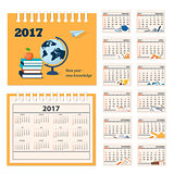 desk education calendar 2017 year