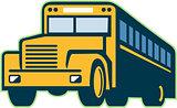 School Bus Vintage Retro