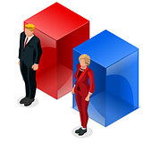 Us Election 2016 Debate Pools Icon Set 04