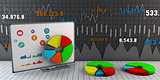 Colorful Business Chart, Reports and Presentations