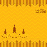 Stylish design and text for Diwali celebration