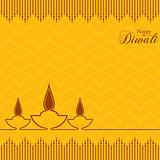 Stylish design and text for Diwali celebration