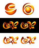 Hot Core Vector Logos