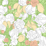 Beautiful floral illustration