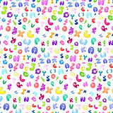 Bubble abc pattern