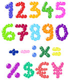 Bubbles numbers