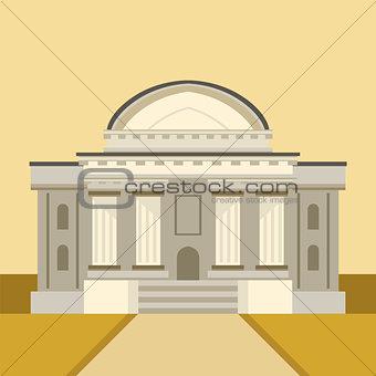 Classic Theatre Building Facade