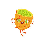 Kiwano Girly Cartoon Character