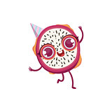 Dragon Fruit Girly Cartoon Character