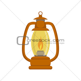 Old-school Kerosene Lamp
