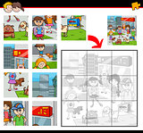 jigsaw puzzle game with kids