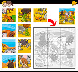 jigsaw puzzles with animals