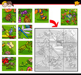 jigsaw puzzles with insects