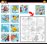 jigsaw puzzles with fish