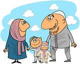 Good muslim family