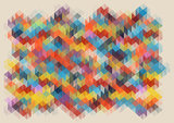 low poly abstract mosaic. vector background