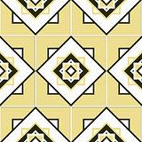 Seamless geometric pattern texture
