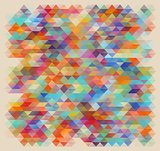 geometric style abstract color background