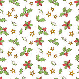 Christmas Mistletoe Seamless