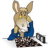 Donkey Chessplayer