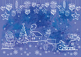 Holiday Christmas Background